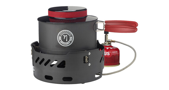 Primus Power Stove - Réchaud à gaz - Set rouge/noir